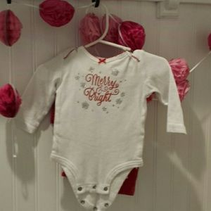 Christmass Onesie with leggings and tutu